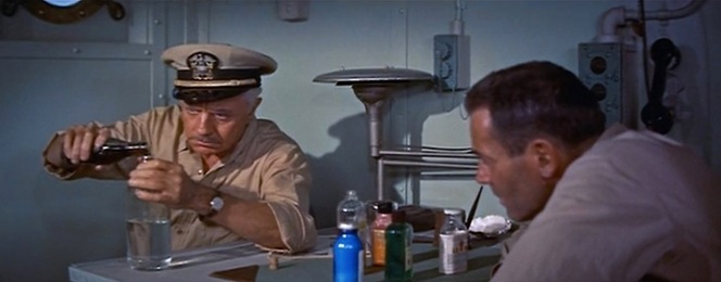 Luckily for the crew of the USSReluctant, there may be no better man to have around in a crisis of booze than William Powell.