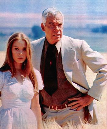 Lee Marvin and Sissy Spacek in Prime Cut (1972)