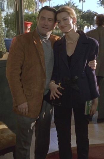 Robert De Niro and Natascha McElhone in Ronin (1998)