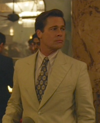 Brad Pitt as Max Vatan in Allied (2016)
