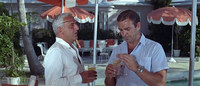 A courteous lunch guest always accepts a Rum Collins from his host... even if said host is a pompous megalomaniac.