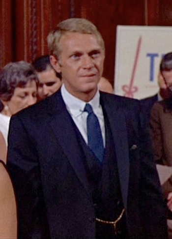 Steve McQueen as Thomas Crown in The Thomas Crown Affair (1968)