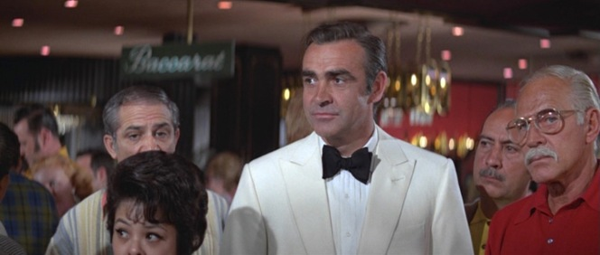 The Ban-Lon boys stare on dumbfounded as 007 out-classes them all.