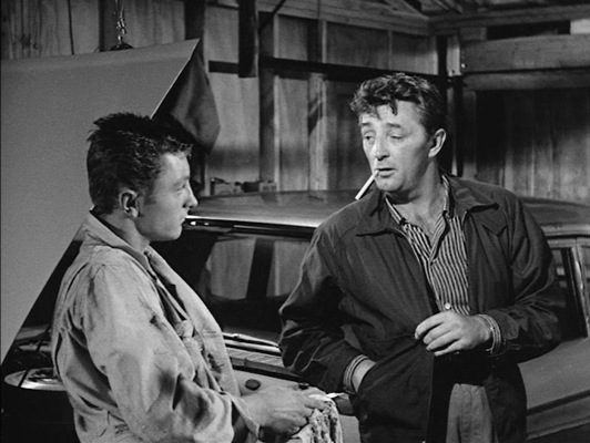 James Mitchum joined his father Robert in Thunder Road.