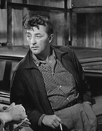 Robert Mitchum as Lucas Doolin in Thunder Road (1958)