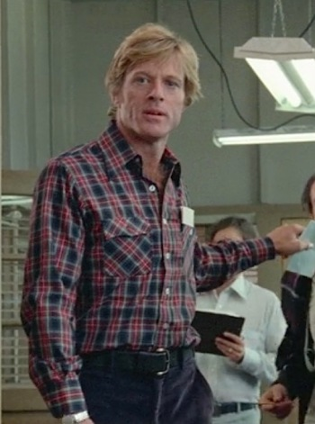 Robert Redford as Henry Brubaker in Brubaker (1980)