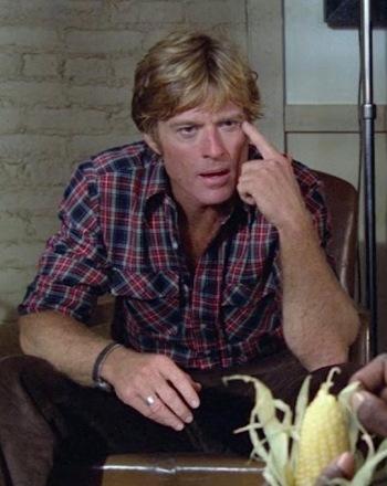 Robert Redford as Henry Brubaker in Brubaker (1980)