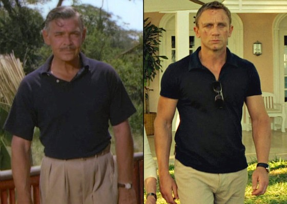 From Clark to Craig: untuck the shirt, clip on a pair of sunglasses, and don't skip arm day at the gym.