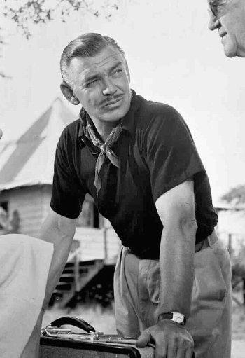 Clark Gable as Victor Marswell in Mogambo (1953)