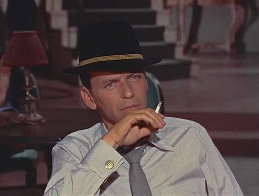 """A hat's not a hat till it's tilted,"" sang Sinatra with Dean Martin and Bing Crosby in ""Style"" for Robin and the 7 Hoods (1964)."