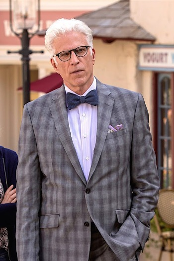 "Ted Danson as Michael on The Good Place. (Episode 1.08: ""Most Improved Player"")"