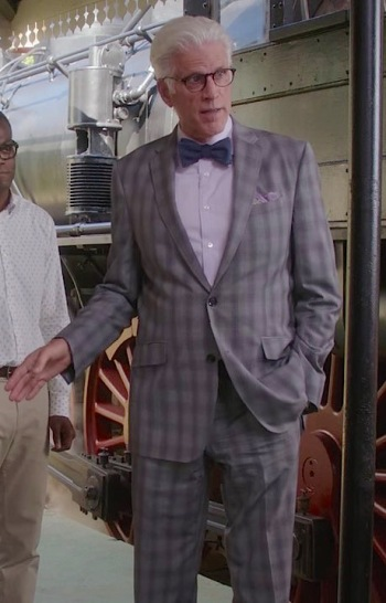 """Ted Danson as Michael on The Good Place. (Episode 1.08: """"Most Improved Player"""")"""
