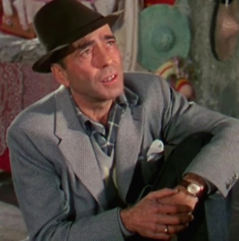 Humphrey Bogart as Harry Dawes in The Barefoot Contessa (1954)