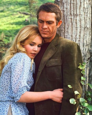 Steve McQueen and Tuesday Weld in The Cincinnati Kid (1965)