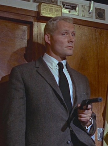 "Robert Shaw as Donald ""Red"" Grant in From Russia With Love (1963)"