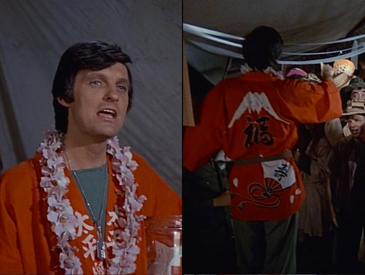 The pilot episode featured Hawkeye in more locally influenced loungewear.