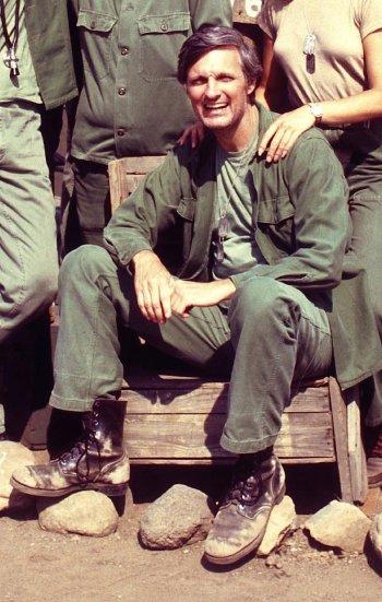 """Alan Alda as Captain """"Hawkeye"""" Pierce on M*A*S*H"""