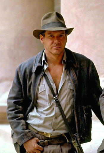 Harrison Ford as Indiana Jones in Indiana Jones and the Last Crusade (1989)