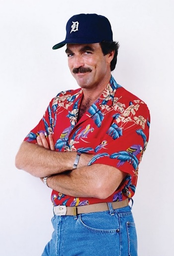 Tom Selleck as Thomas Magnum on Magnum, P.I. (1980-1988)
