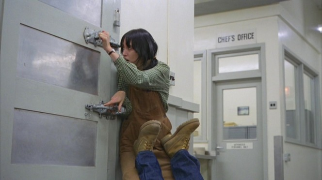 Wendy (Shelley Duvall) finds a place for Jack.