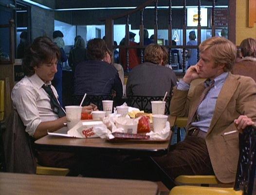 Bernstein and Woodward taking a much deserved break.