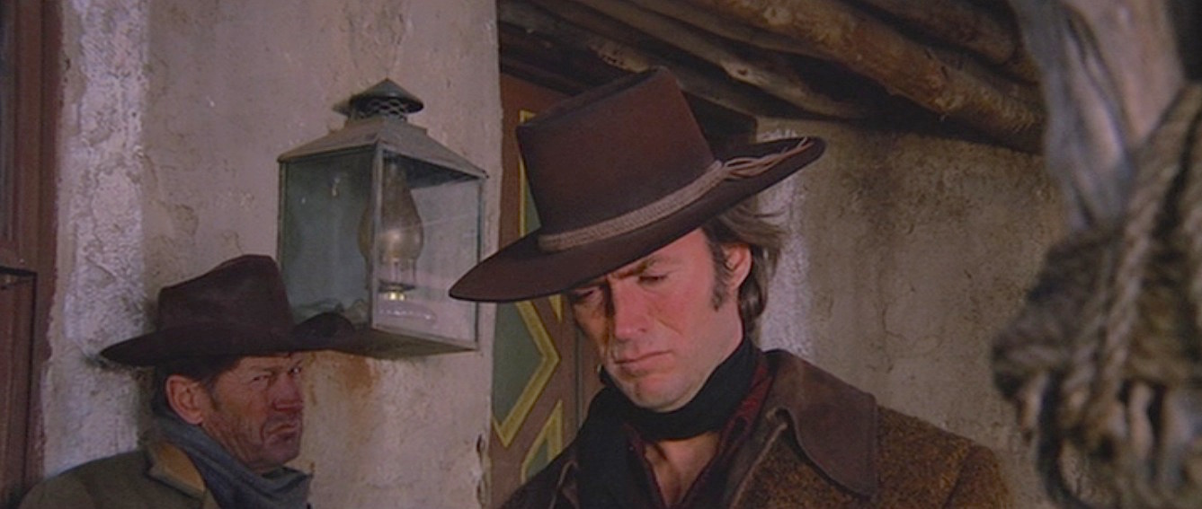 Sharpshooter Joe Kidd Clint Eastwood Bounty Hunter Brown Leather Cowboy Hat