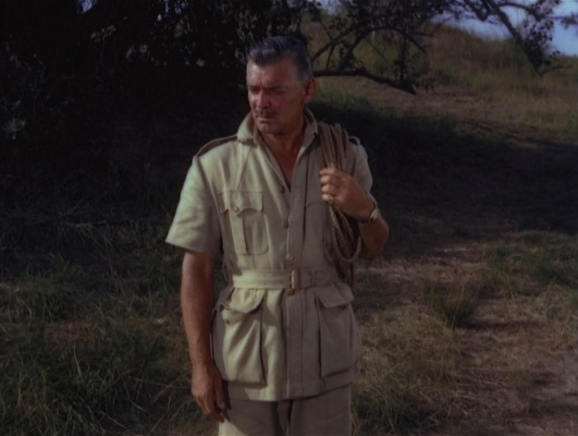 The perfect bush jacket for a rhino hunt.
