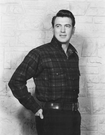 Rock Hudson as Ron Kirby in All That Heaven Allows (1955), photo by Everett.