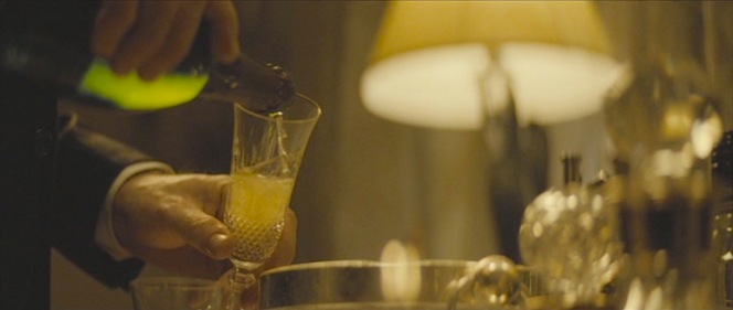 Bond's unorthodox seduction method in Spectre consists of breaking into a woman's home, murdering two assassins, and helping himself to her champagne.