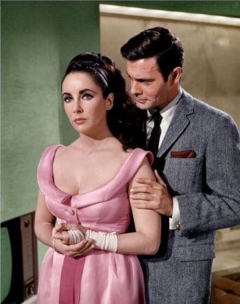 Louis Jourdan and Elizabeth Taylor in The V.I.P.s (1963)
