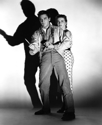 Elvis Presley and Dolores Hart in King Creole (1958)