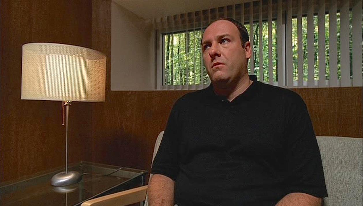 The Sopranos Pilot Episode Tonys Black Polo Shirt Bamf Style
