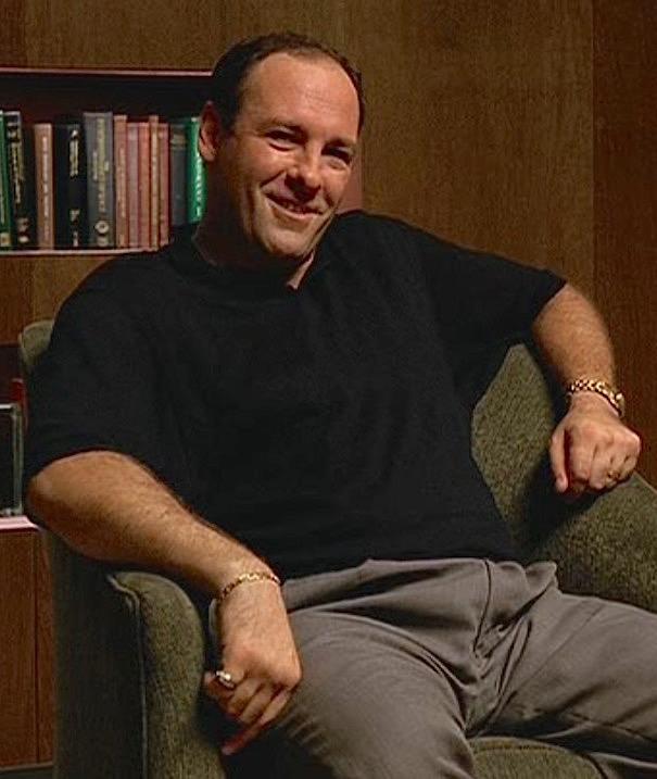 The Sopranos: Pilot Episode – Tony's Black Polo Shirt | BAMF Style
