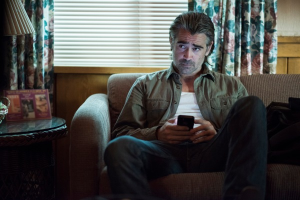 "Production photo of Colin Farrell in ""Black Maps and Motel Rooms"" (Episode 2.07)"
