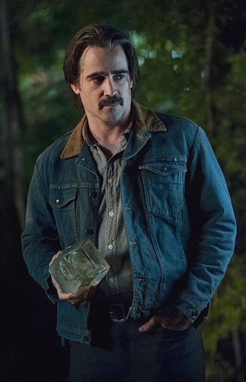 "Colin Farrell as Ray Velcoro on the second season of True Detective (Episode 2.04: ""Down Will Come"")"