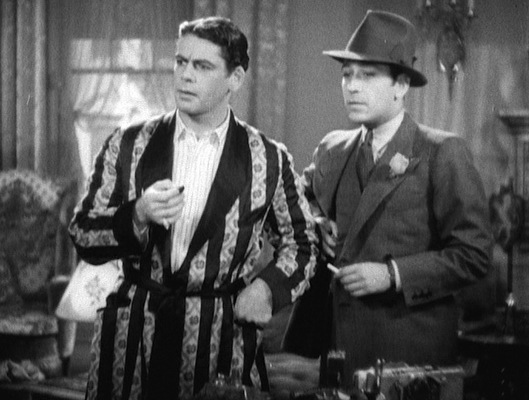 Tony Camonte and Guino Rinaldo: each dressed for the day's business in their respective manners.