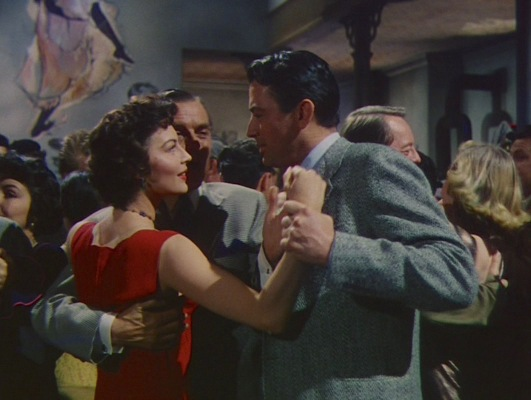 Harry can't help but to try to steal a dance with Cynthia, cutting out Compton (John Dodsworth), her presumed date for the evening.
