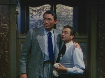 A screenshot from the high-resolution DVD offered in The Ernest Hemingway Classics Collection...
