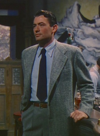 Gregory Peck as Harry Street in Ernest Hemingway's The Snows of Kilimanjaro (1952)