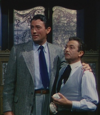 Gregory Peck and Marcel Dalio in The Snows of Kilimanjaro (1952)