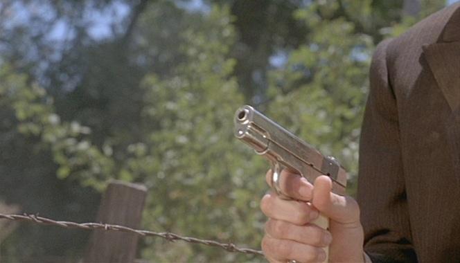Eddie's flashy Colt.