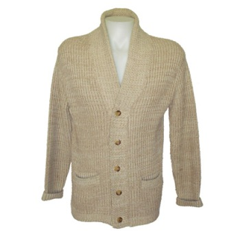 """One of two """"hero"""" sweaters worn by Robert Redford in The Natural, courtesy of The Golden Closet."""