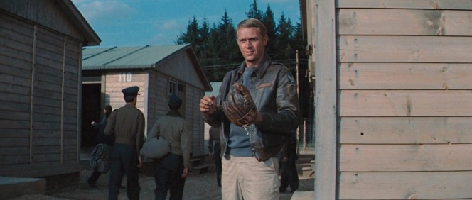 McQueen as Hilts in The Great Escape (1963)