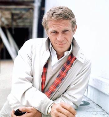 Steve McQueen, photographed by William Claxton, 1964.