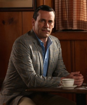 "Jon Hamm as Don Draper on Mad Men (Episode 6.09: ""The Better Half"")"