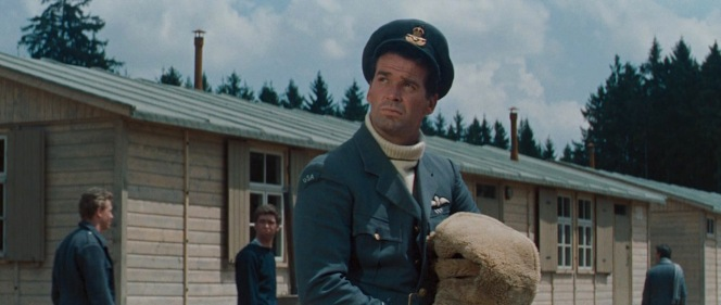 James Garner as Flight Lieutenant Robert Hendley in The Great Escape (1963)