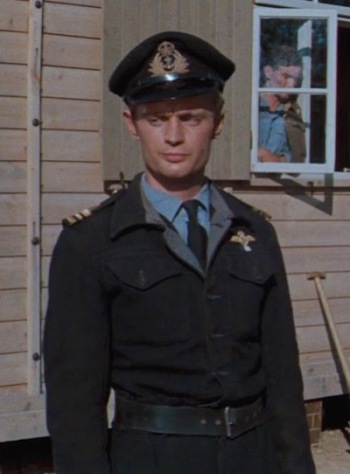 David McCallum as Lieutenant Commander Eric Ashley-Pitt in The Great Escape (1963)