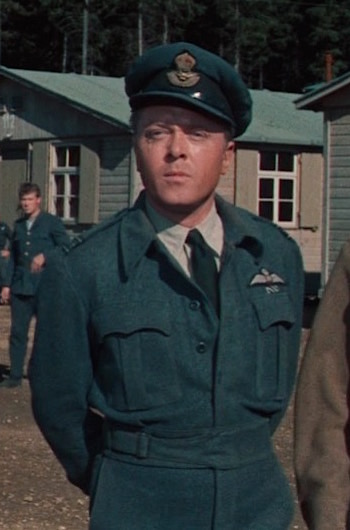 "Richard Attenborough as Squadron Leader Roger ""Big X"" Bartlett in The Great Escape (1963)"