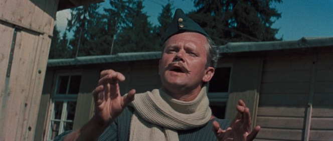 Nigel Stock as Flight Lieutenant Denis Cavendish in The Great Escape (1963)