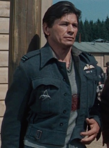 Charles Bronson as Flight Lieutenant Danny Velinski in The Great Escape (1963)